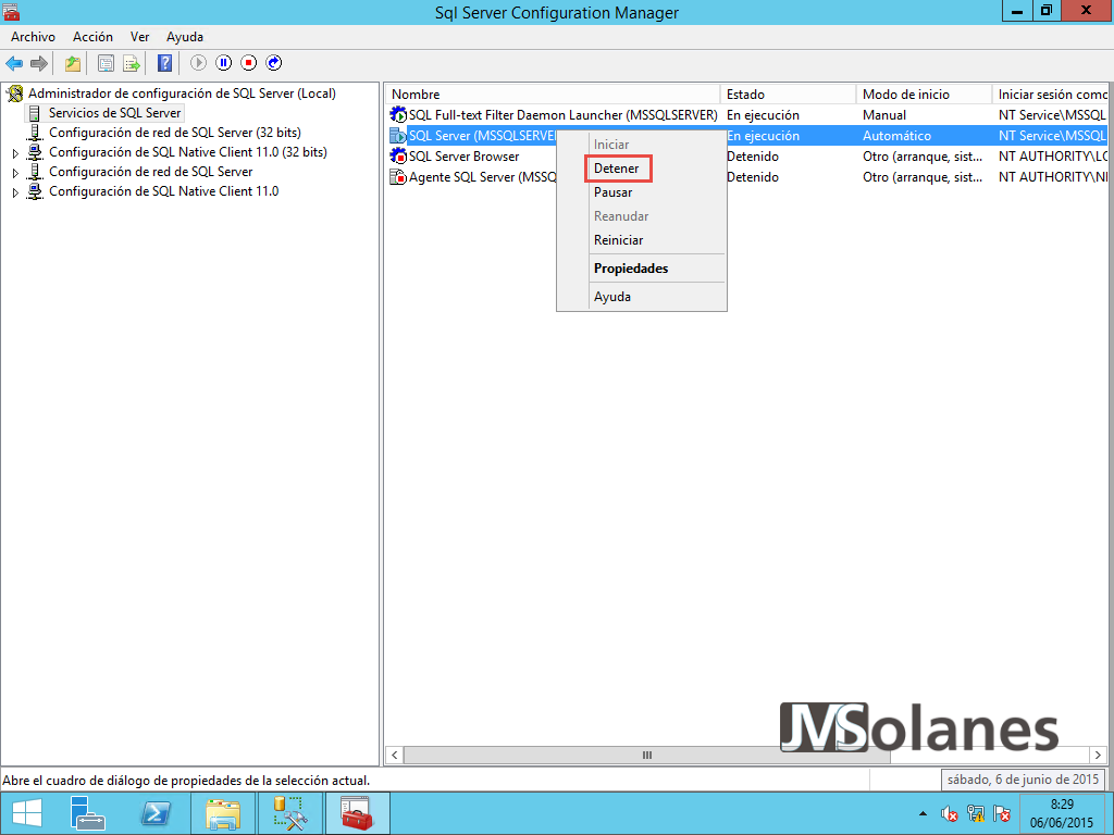 Mover base de datos SQL Server | Josep Maria Solanes